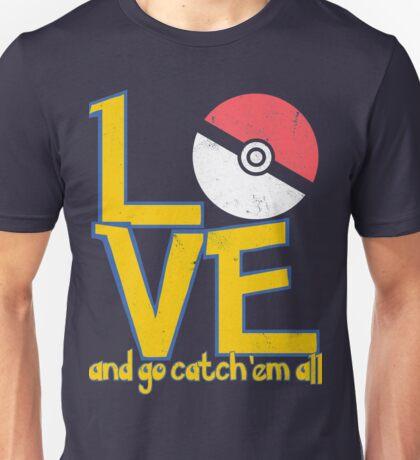 Poke-Love #3-b Unisex T-Shirt