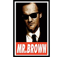 (MOVIES) Mr. Brown Photographic Print