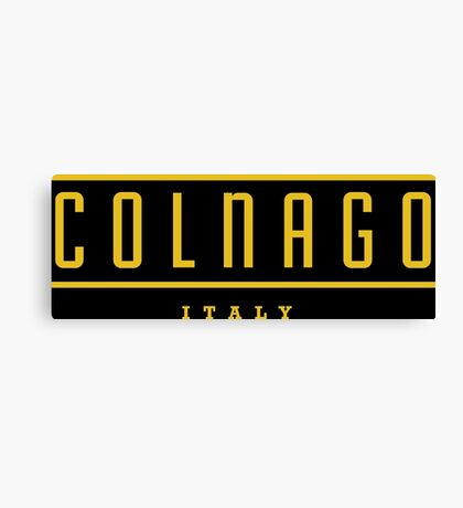 Colnago Racing Bicycles Italy Canvas Print