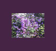 Mauve Hedge Flower Unisex T-Shirt