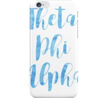 Theta Phi Alpha iPhone Case/Skin