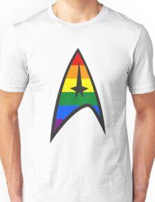 Gay Star Trek Emblem Unisex T-Shirt