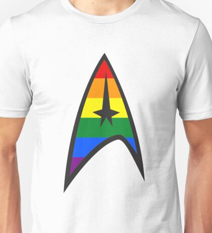 Gay Star Trek Emblem Unisex T-Shirt