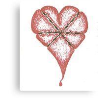 Give 'em Heart Canvas Print