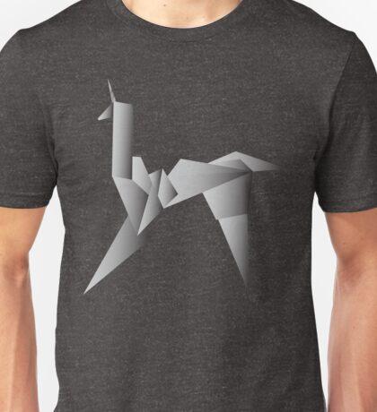 Gaff's Origami Unicorn Unisex T-Shirt