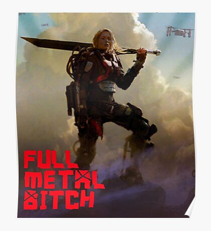 Edge of Tomorrow - Full Metal B Poster