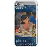 Just Shutup And Eat iPhone Case/Skin