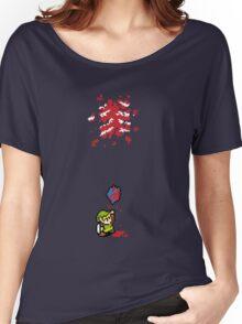 Link got a heart (super nes edition) Women's Relaxed Fit T-Shirt