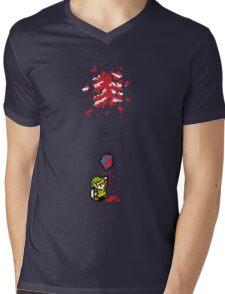 Link got a heart (super nes edition) Mens V-Neck T-Shirt