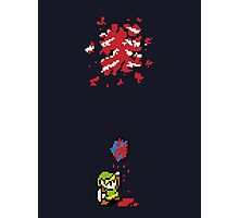 Link got a heart (super nes edition) Photographic Print