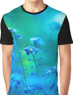 Daydream In Blue Graphic T-Shirt