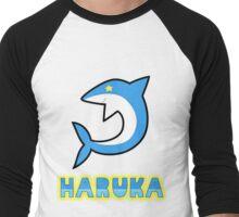 Free! Iwatobi Swim Club: Haruka Ending T-shirt Men's Baseball ¾ T-Shirt