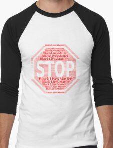 Black Lives Matter Men's Baseball ¾ T-Shirt