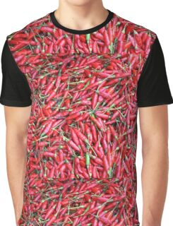 Red Peppers Graphic T-Shirt