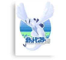 Pokémon Silver - Lugia Canvas Print