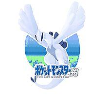 Pokémon Silver - Lugia Photographic Print