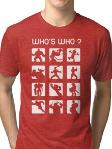 Who's who ? (normal difficulty) Tri-blend T-Shirt