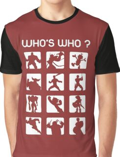 Who's who ? (normal difficulty) Graphic T-Shirt