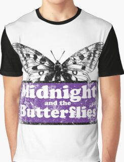 Midnight and the Butterflies Graphic T-Shirt
