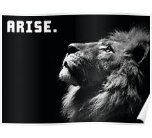 ARISE (Lion Motivation) Poster