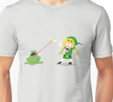 Link and a frog Unisex T-Shirt