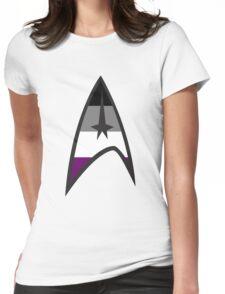 Asexual Star Trek Emblem Womens Fitted T-Shirt