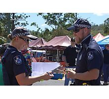 POLICE LIVES MATTER (law enforcement) Photographic Print