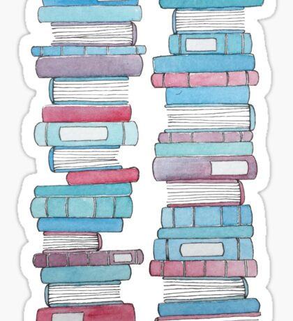 All the Books Sticker