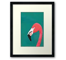 Mister Flamingo Framed Print