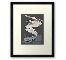 Fossils Refueled Framed Print
