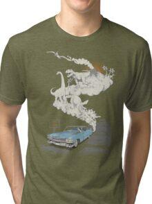 Fossils Refueled Tri-blend T-Shirt
