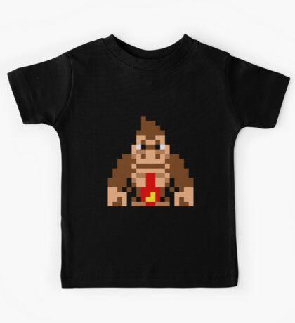 Pixel Donkey Kong Kids Tee