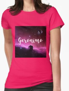 Geronimo ! Womens Fitted T-Shirt