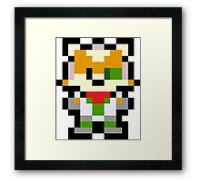 Pixel Fox McCloud Framed Print