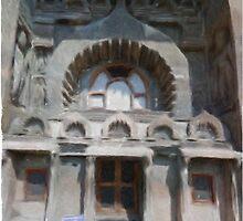 Ajanta Caves by Satish K