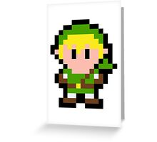 Pixel Link Greeting Card