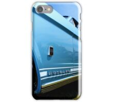 Blue Mustang iPhone Case/Skin