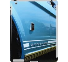 Blue Mustang iPad Case/Skin