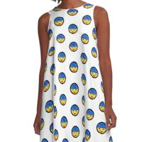 KCMO ladies emoji A-Line Dress