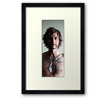 'Tethered series'- by Sabah Ingvarsson Framed Print