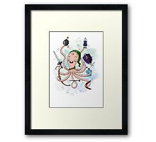 Linktopus the Link Octopus Framed Print