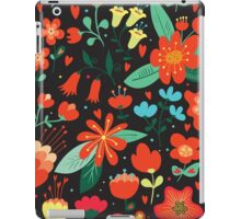 Flowers and hearts iPad Case/Skin