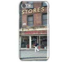 Withy Grove Stores, Dantzic Street, Manchester iPhone Case/Skin