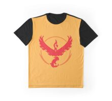Pokémon Go - Team Valor Moltres Graphic T-Shirt