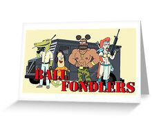 Ball Fondlers Greeting Card