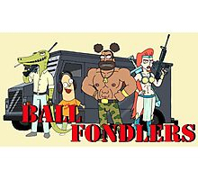 Ball Fondlers Photographic Print