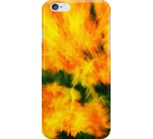 flower rush iPhone Case/Skin