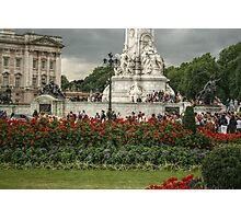 Bottom Portion of the Queen Victoria Memorial Photographic Print