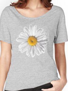 Daisy Blues - Daisy Pattern on Cornflower Blue Women's Relaxed Fit T-Shirt