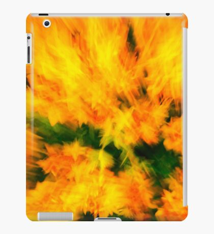 flower rush iPad Case/Skin
